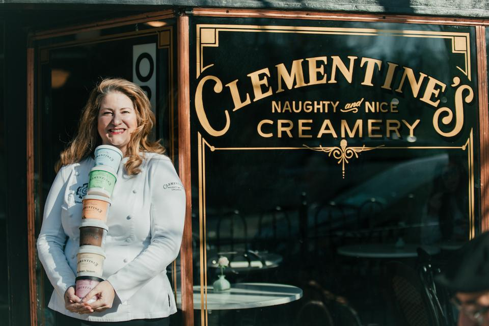 CBD Oil Clementines Creamery Tamara Keefe Ice Cream Pints COVID-19 Snack Sweet Treat Dessert