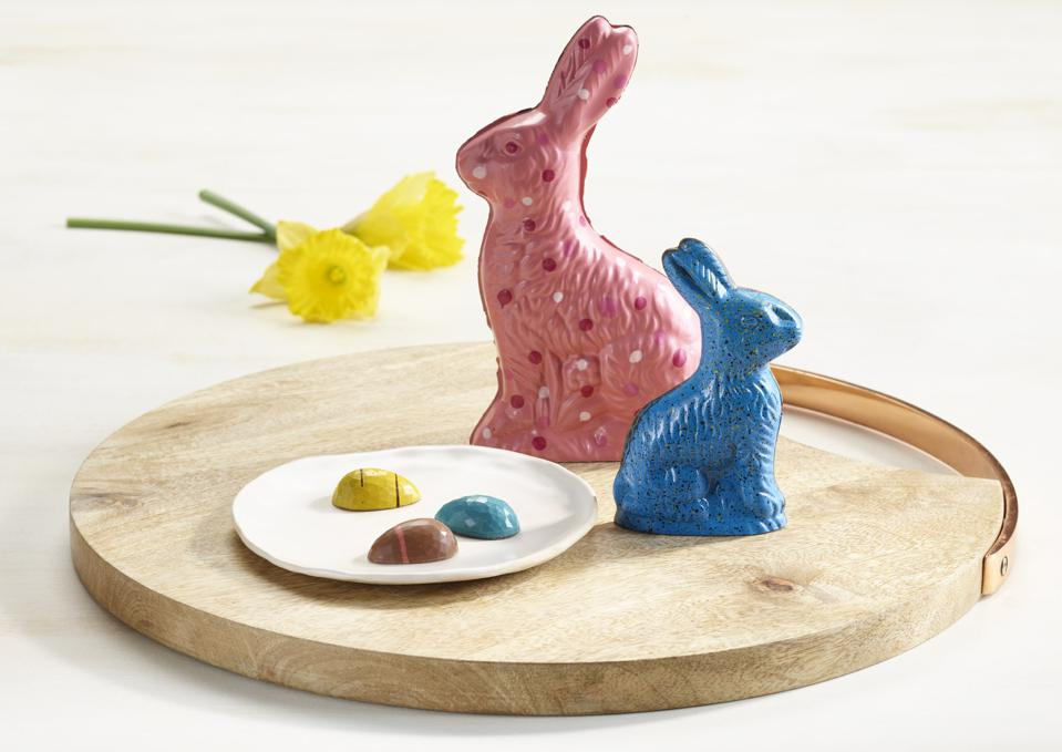 andSons Easter Treats Chocolate Bunny Gift Cacao Beverly Hills Chocolatier Chocolatemaker