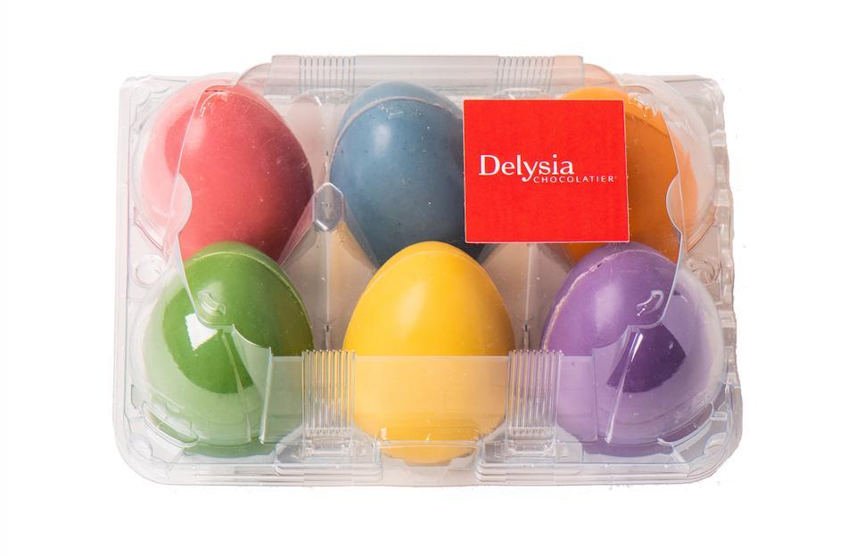 Delysia Chocolatier Easter Chocolate Eggs Gift Gourmet Cacao Chocolatemaker