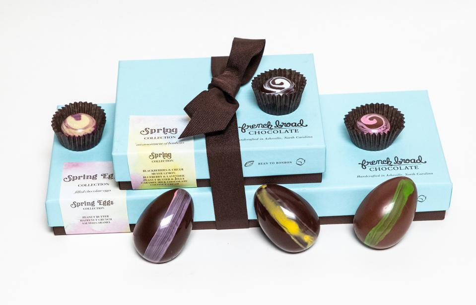 French Broad Chocolates Easter Gifts Spring Bonbons Cacao Bean-to-bar Gourmet Gift