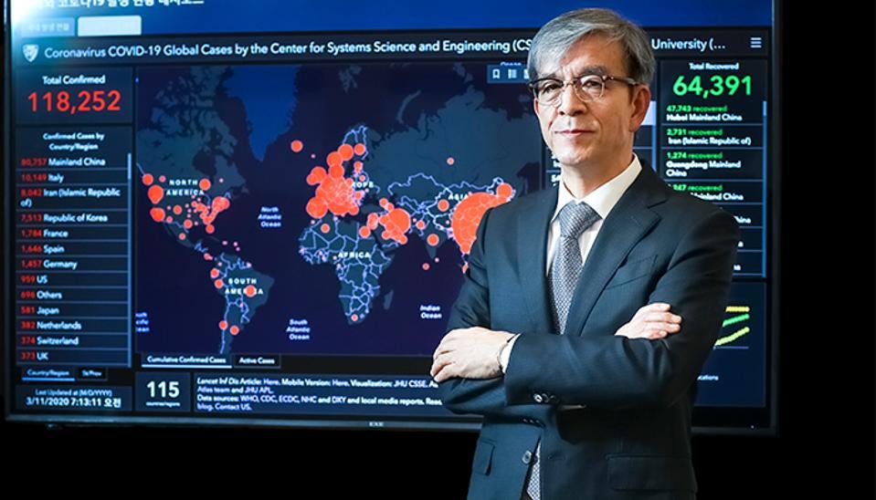 Seegene's CEO Chun Jong-yoon