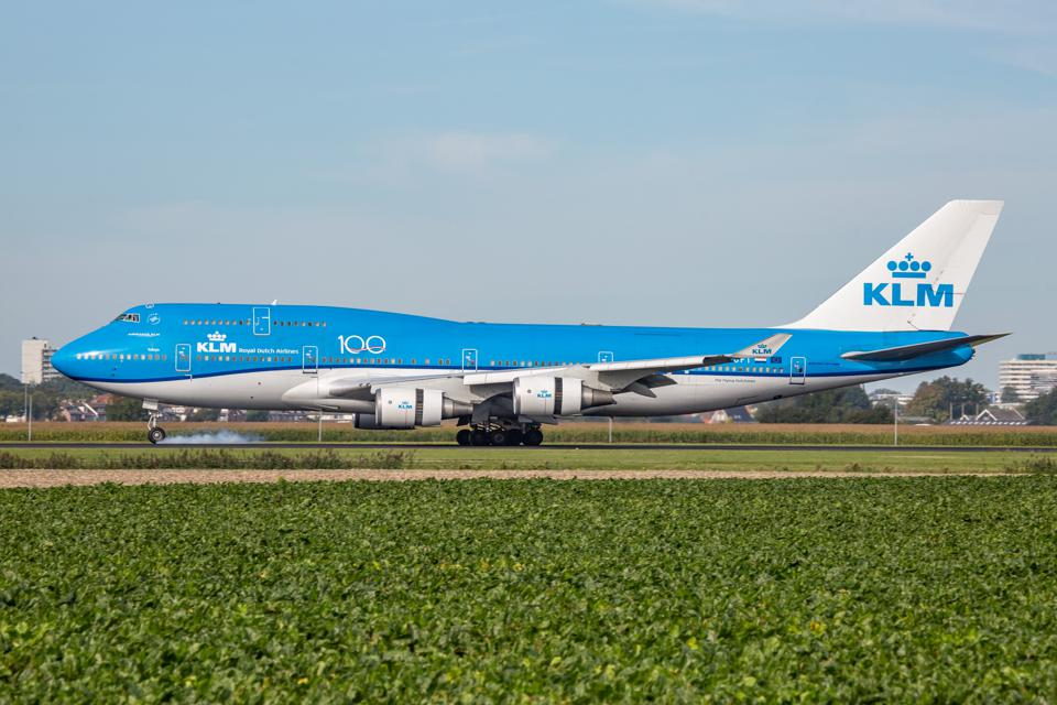 KLM Royal Dutch Airlines Boeing 747-400M