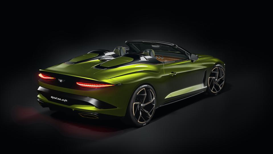 Bacalar Clerkenwell is one of six samples to show the possibilities at Bentley Mulliner Coachbuilt