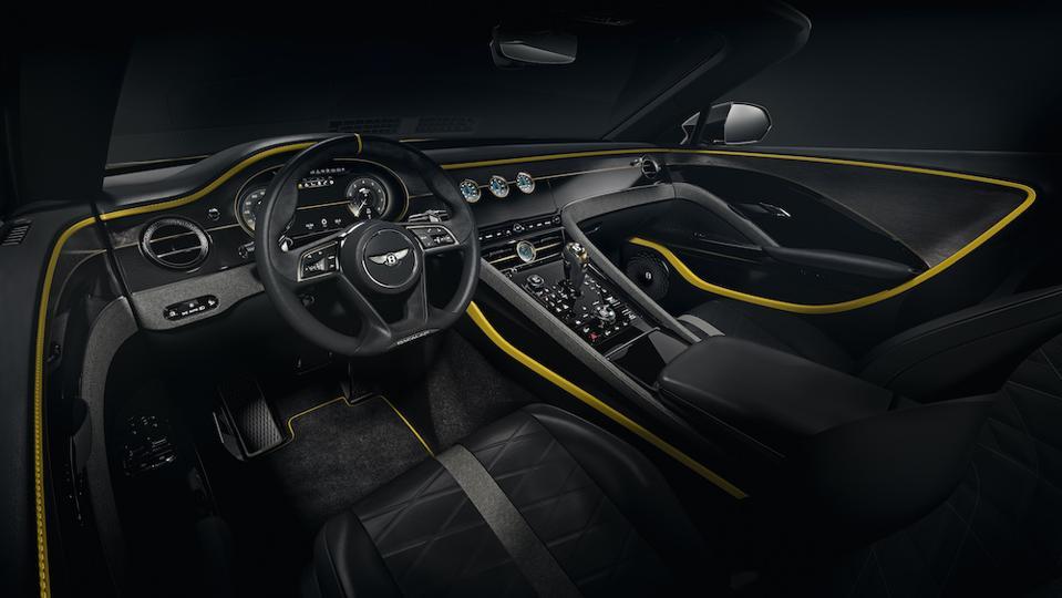 Bentley Bacalar Randwick limited edition car by Bentley Mulliner Coachbuilt