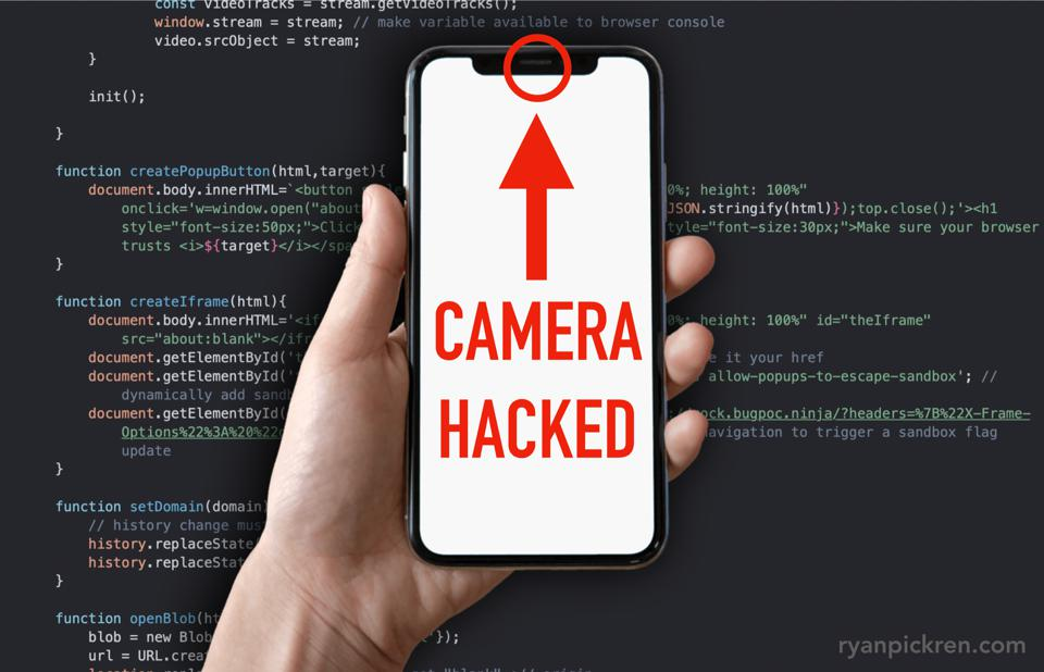 iPhone Camera Hacked: Three Zero-Days Used In $75,000 Attack Chain