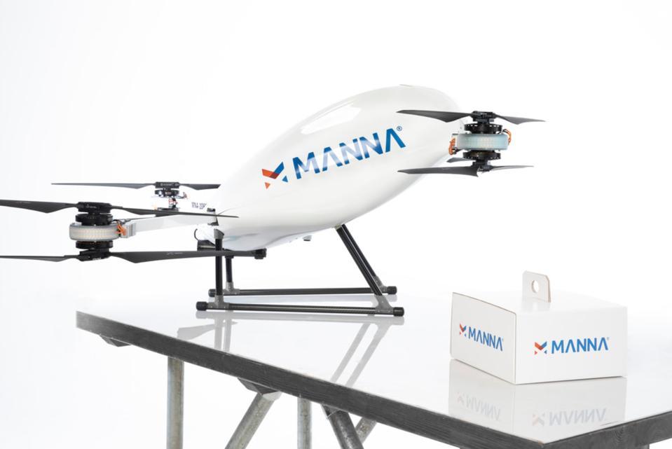 Drone delivery, coronavirus, COVID-19