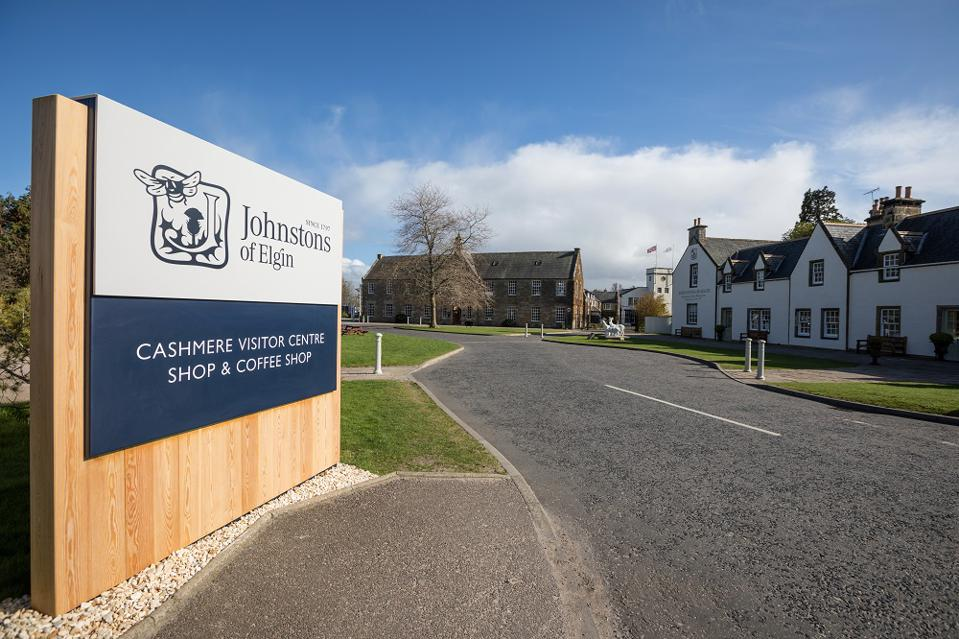 Johnstons of Elgin are at one end of the fashion marketplace