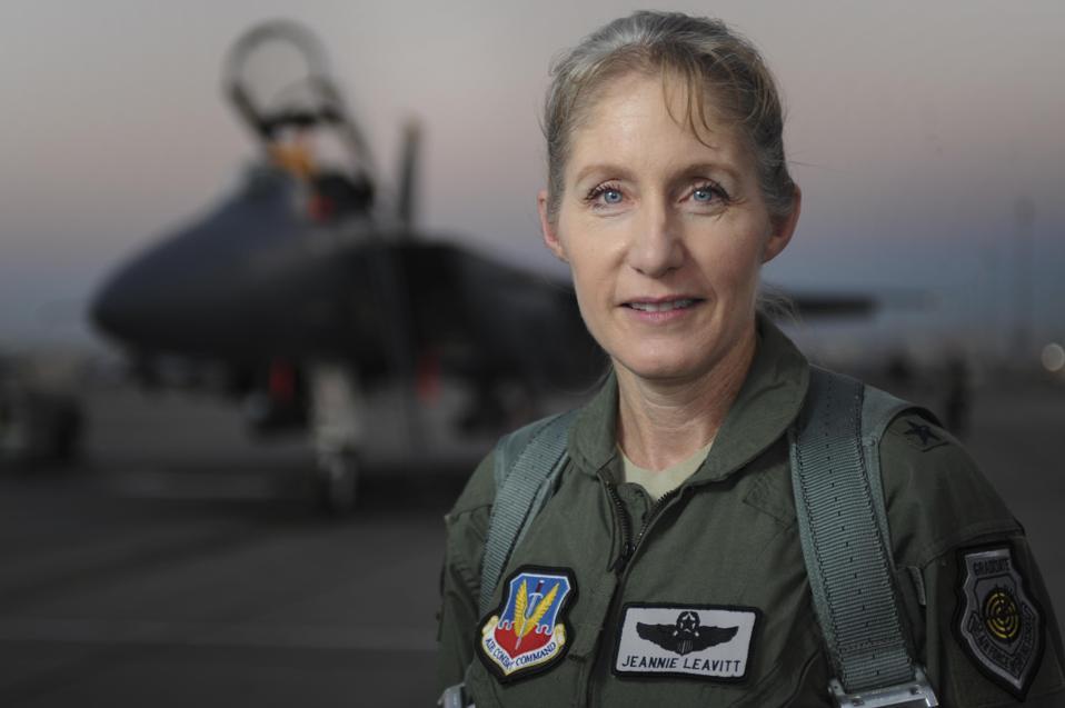 USAF Lady Maverick Jeannie Leavitt