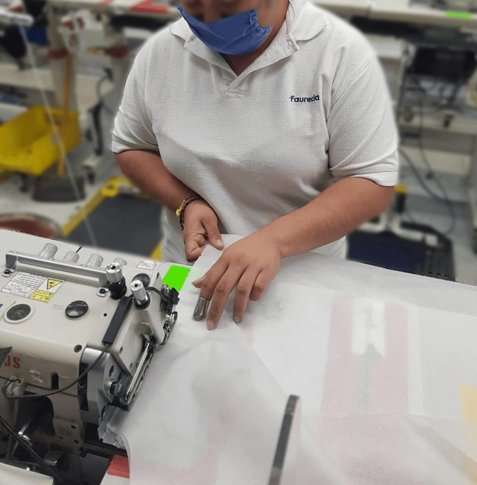 Faurecia's Mexico plant is now producing gowns and masks.