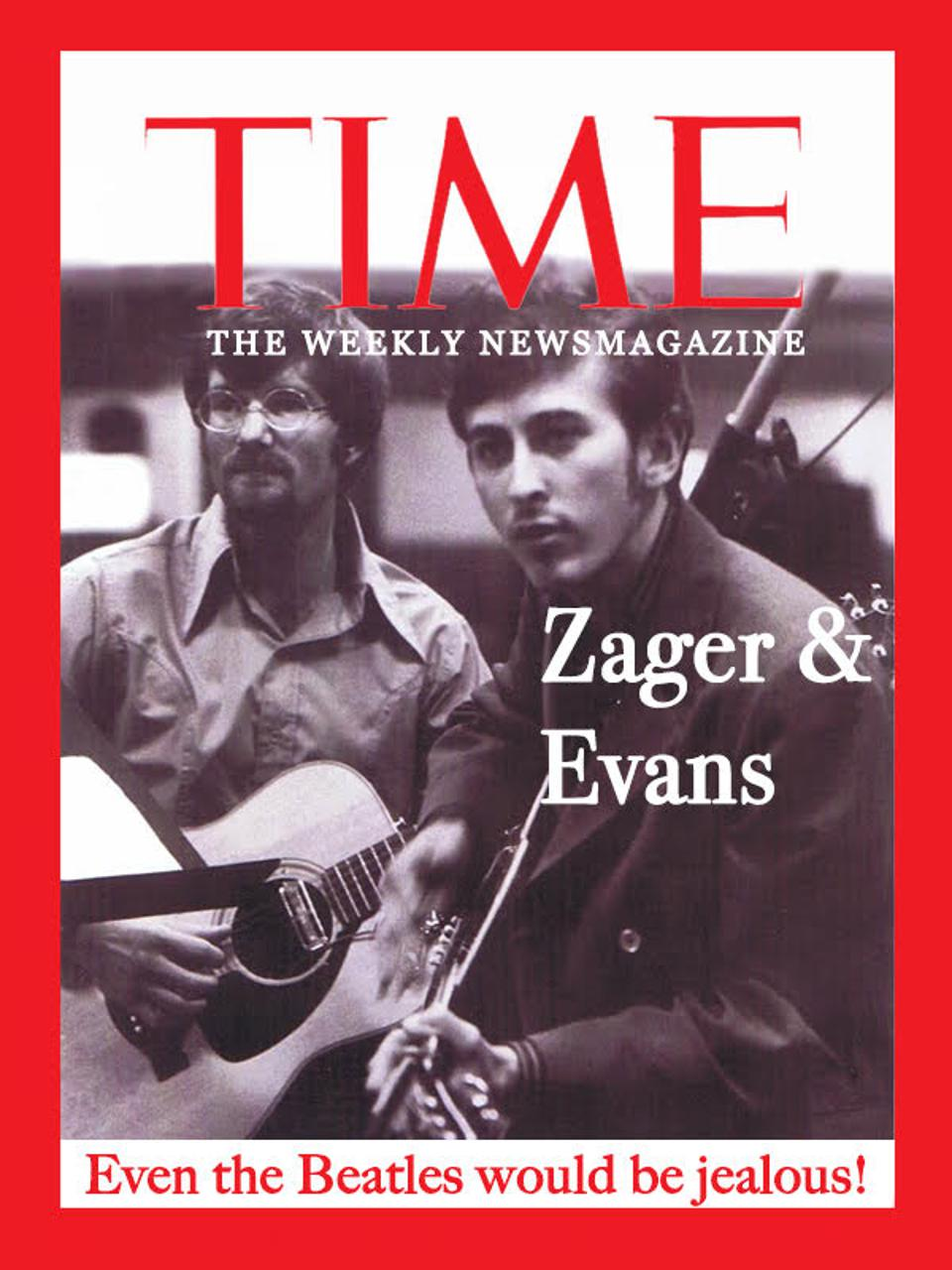 Zager & Evans on the cover of TIME in 1969.