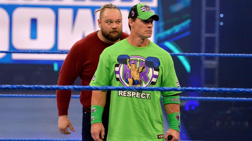 John Cena Bray Wyatt Firefly Fun House Match WrestleMania 36 results COVID-19 Coronavirus