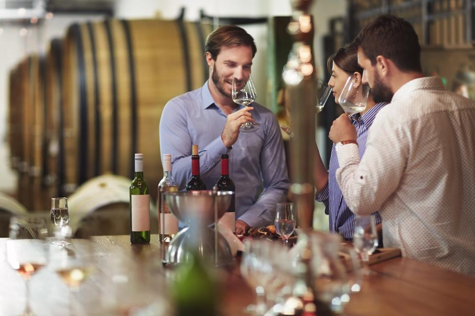 Wine tourism and degustation
