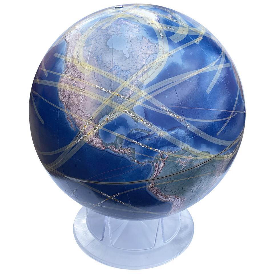 The Solar Eclipse Globe.
