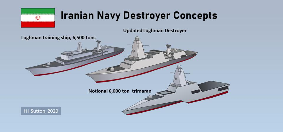 Iranian Navy Destroyer ideas