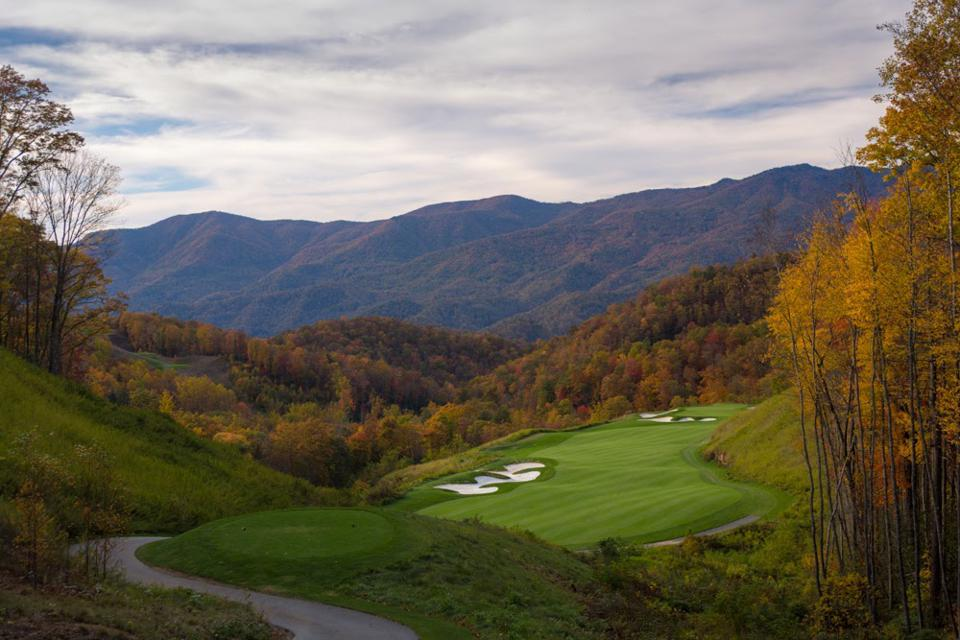 Balsam Mountain Preserve's 18-hole Signature Arnold Palmer Golf Course is popular for both its game as well as its breathtaking mountain views.