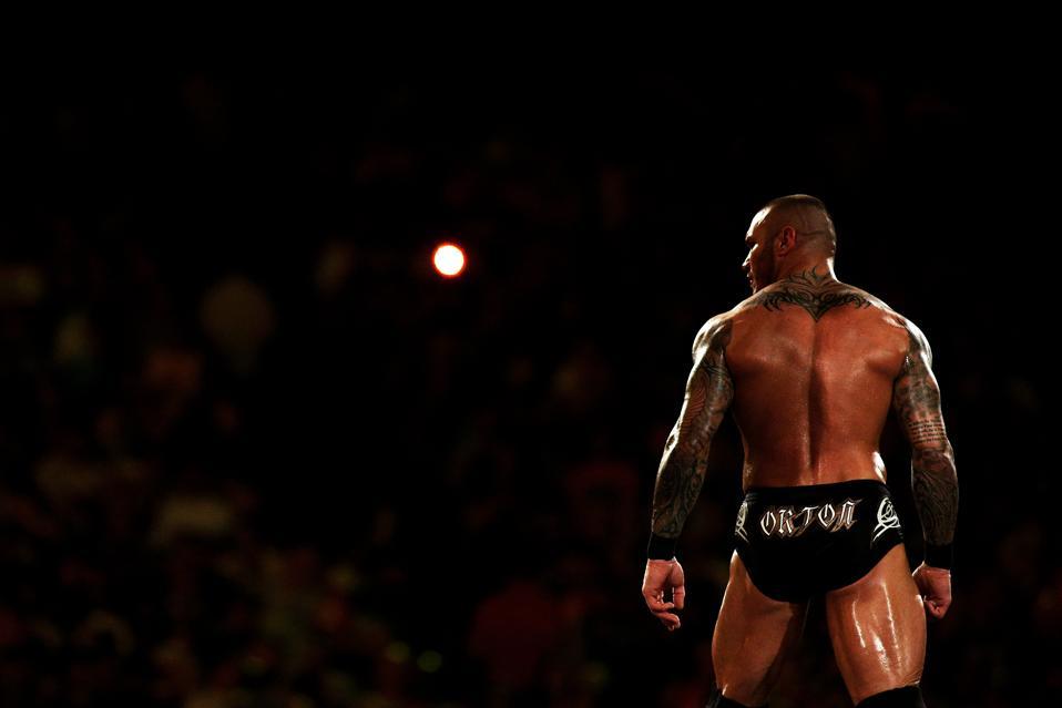 WWE WrestleMania: Randy Orton makes his entrance