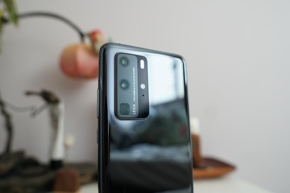 The camera module of the Huawei P40 Pro.