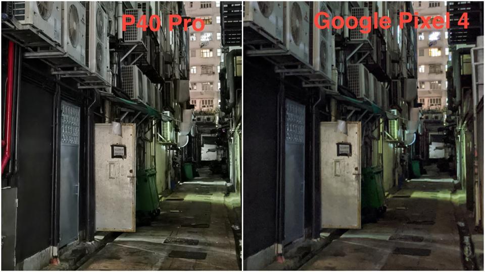 Huawei P40 Pro vs Google Pixel 4.