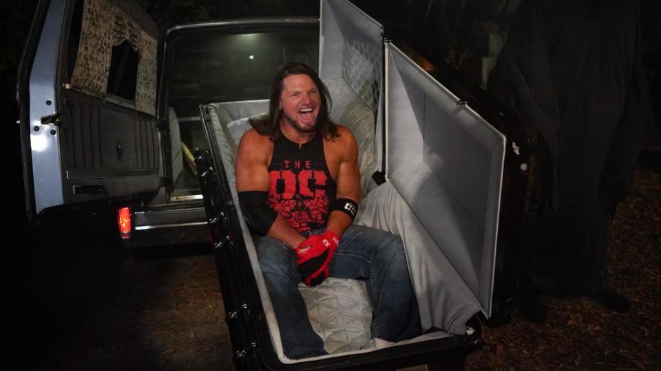 Boneyard Match Undertaker AJ Styles
