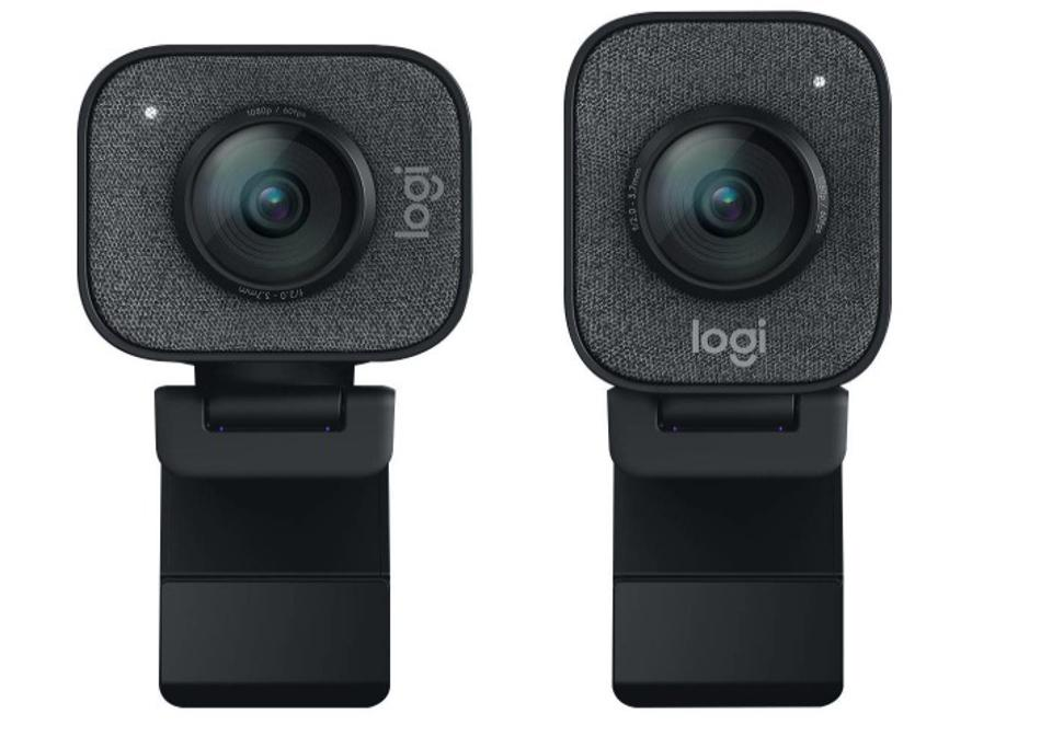 Front view of the Logitech StreamCam