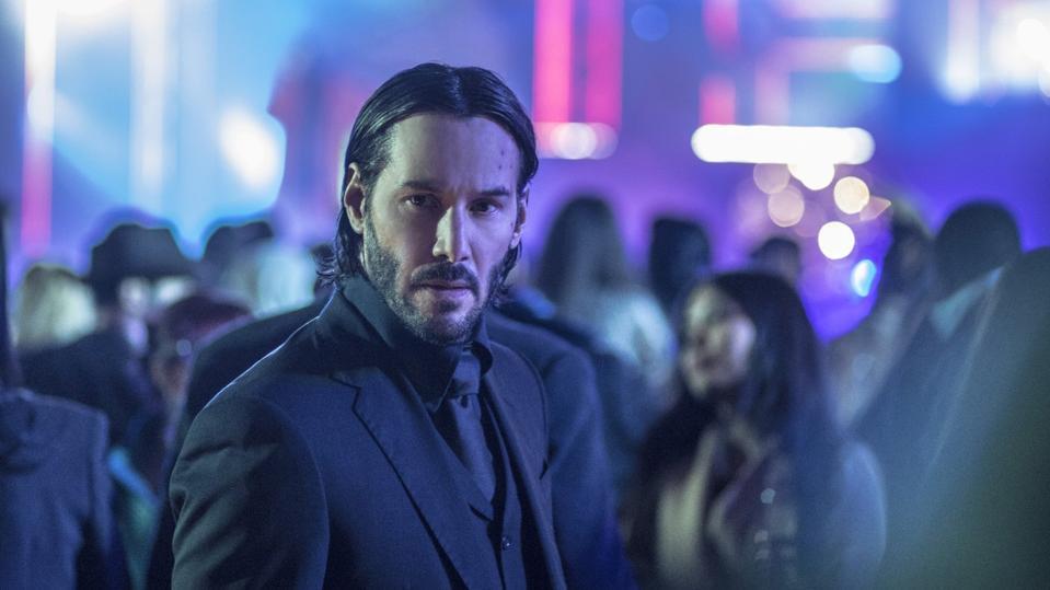 Keanu Reeves in 'John Wick Chapter 2'