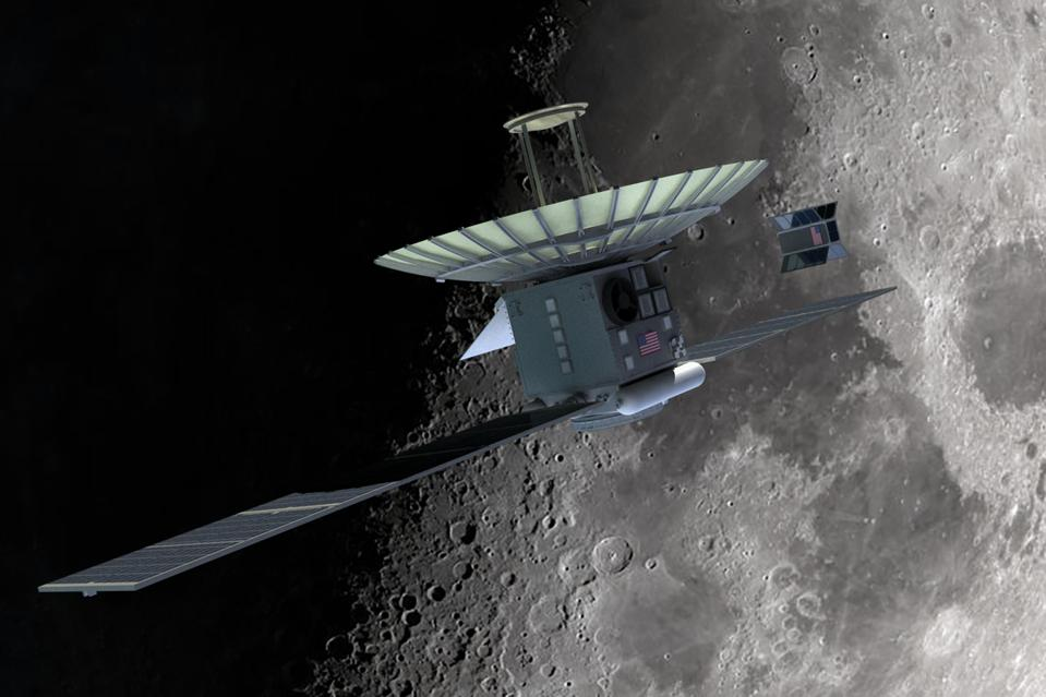 Xplore Inc. was selected by the USAF to study navigation ″solutions″ near the moon.