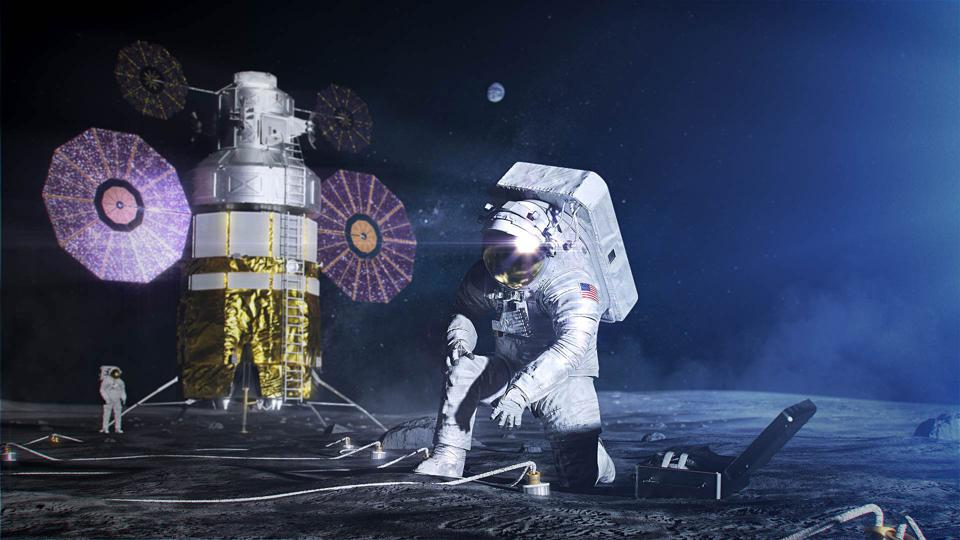 NASA aims to land astronauts on the moon again by 2024.