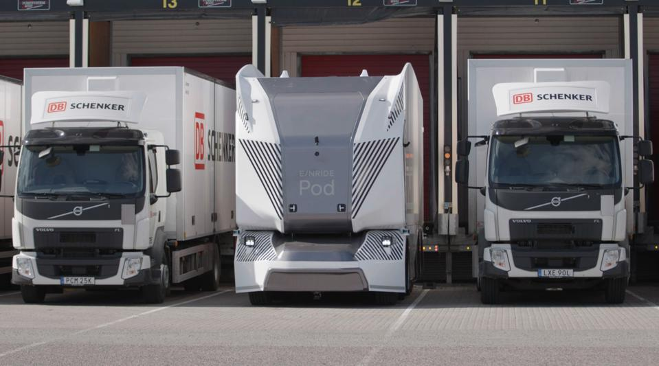 Einride is a Swedish freight mobility transport company