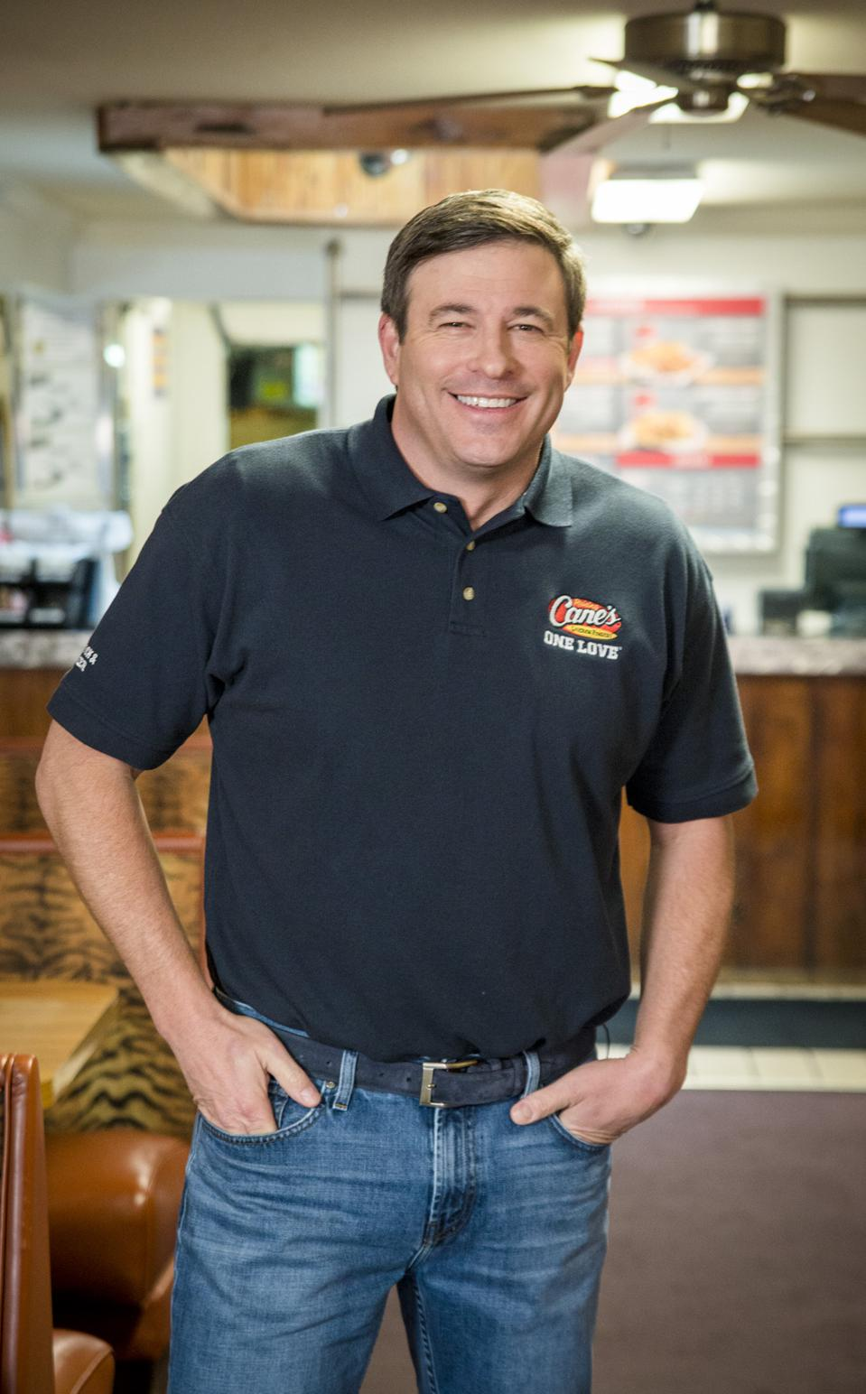 Raising Cane's founder/co-CEO Todd Graves