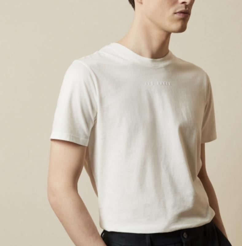 Ted Baker OCRA Logo Embroidered T-Shirt
