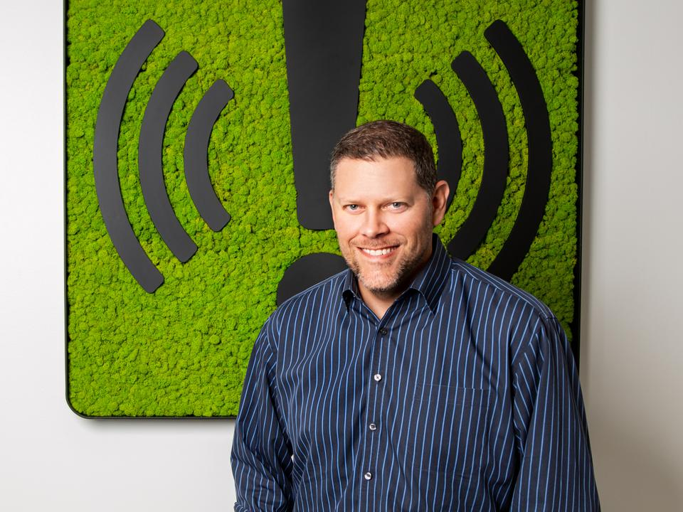 Brian Cruver, CEO and founder of AlertMedia.
