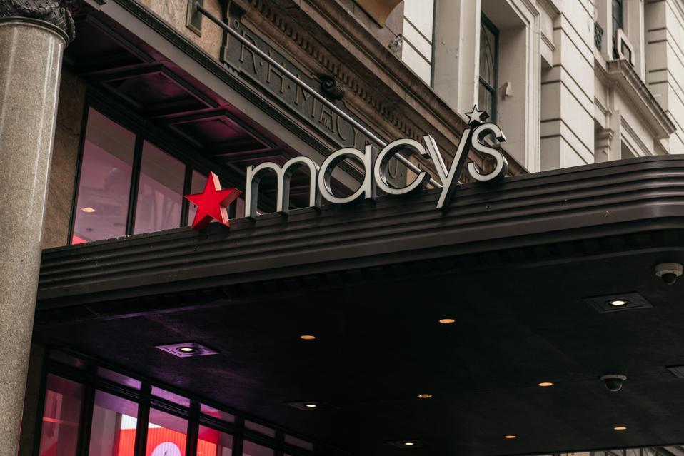 New York Macy's storefront