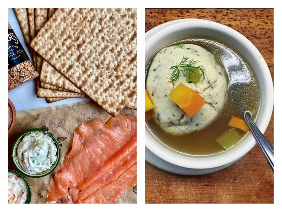 New York City restaurants are delivering Passover specials for the holiday.