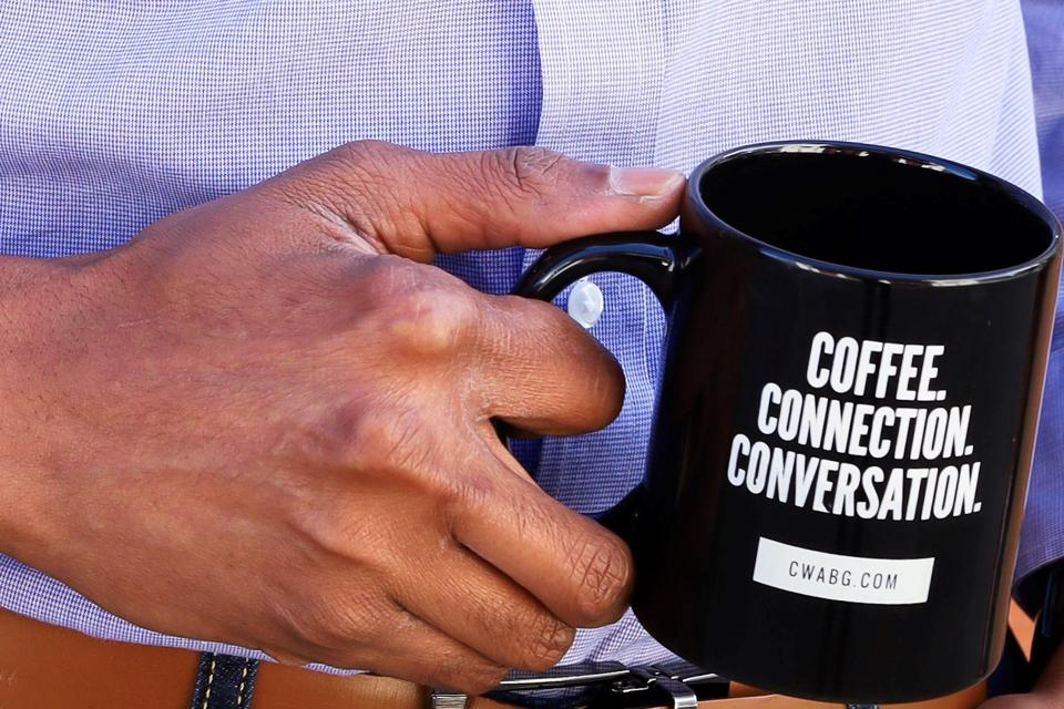 You can purchase Coffee With A Black guy mugs at cwabg.com