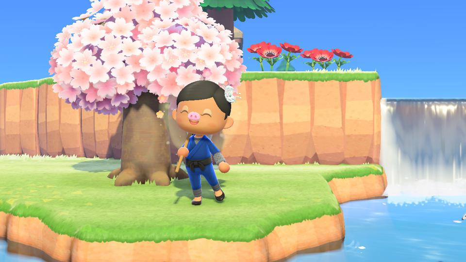 Animal Crossing New Horizons All The Sakura Cherry Blossom Diy Recipes And How To Get Them