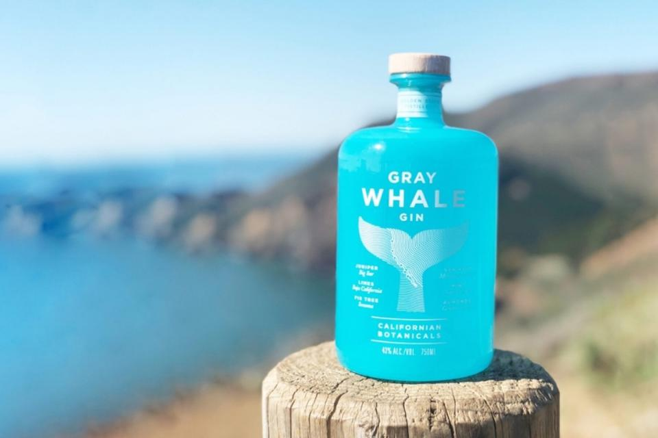 Gray Whale Gin virtual bar