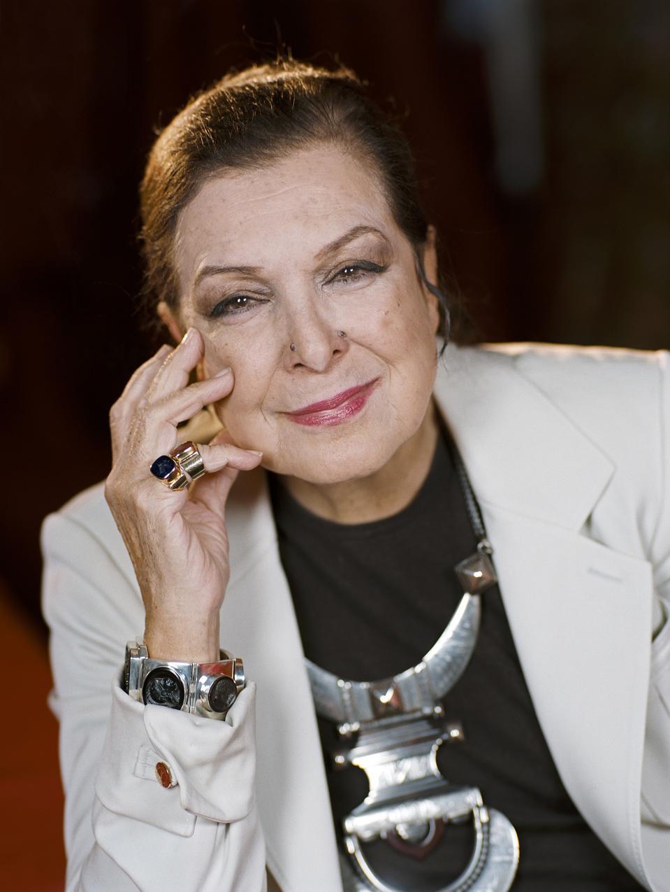 Tunisian designer Leïla Menchari