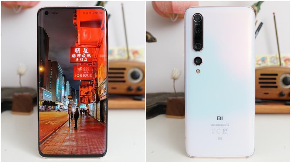 Xiaomi Mi 10 Pro.