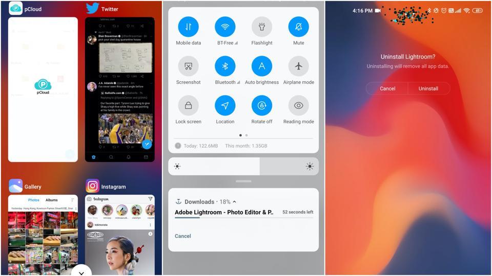 Xiaomi's MIUI 11 is clean.