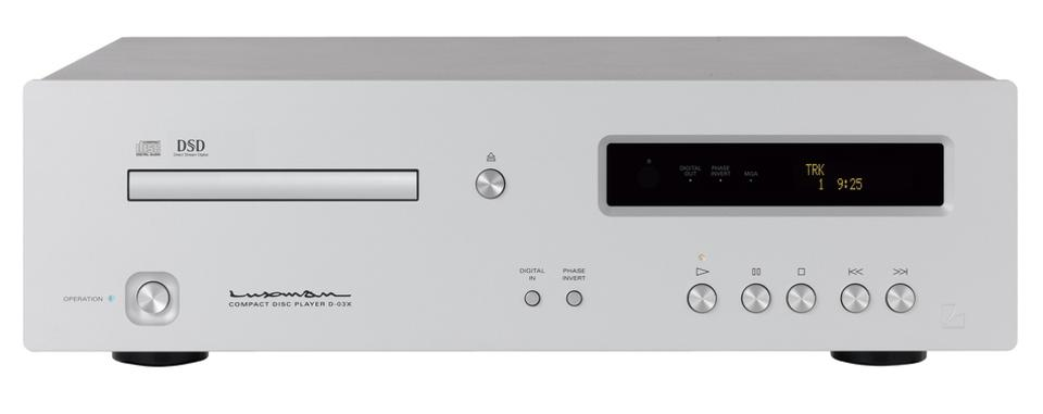 Front view of Luxman D-03X CD player