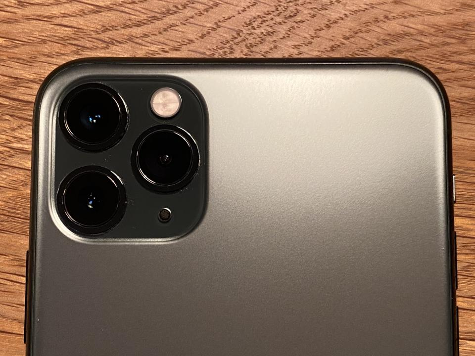 The triple camera on the iPhone 11 Pro Max