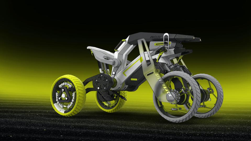 RCA student Vidyut Naidu has designed an adventure vehicle for paraplegics