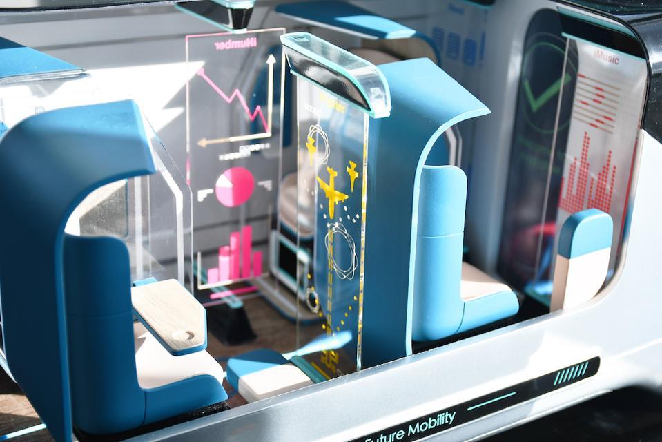 Andy Zou's autonomous minibus for RCA Intelligent Mobility