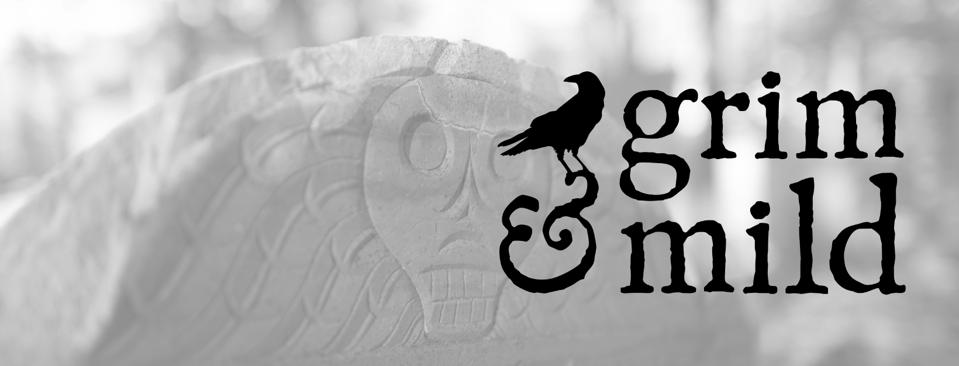 The Grim & Mild logo has the Raven from Nevermore