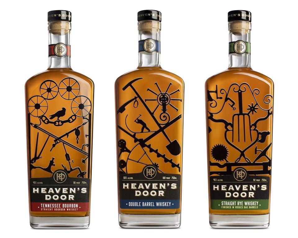 Heaven's Door Core Whiskey Range