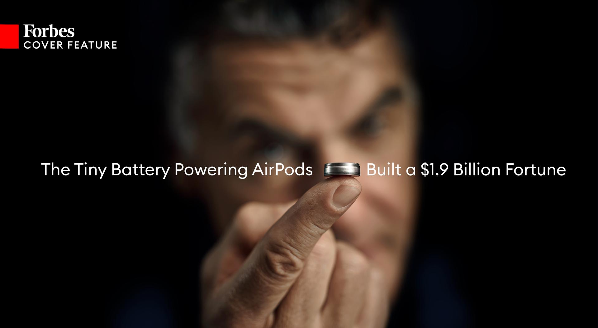 How A Tiny Battery (Thanks Apple!) Built A New $1.9 Billion Fortune