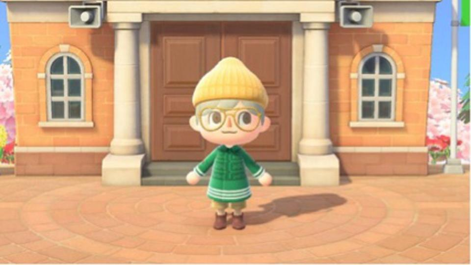Nathan Henry's take on Burberry for Animal Crossing
