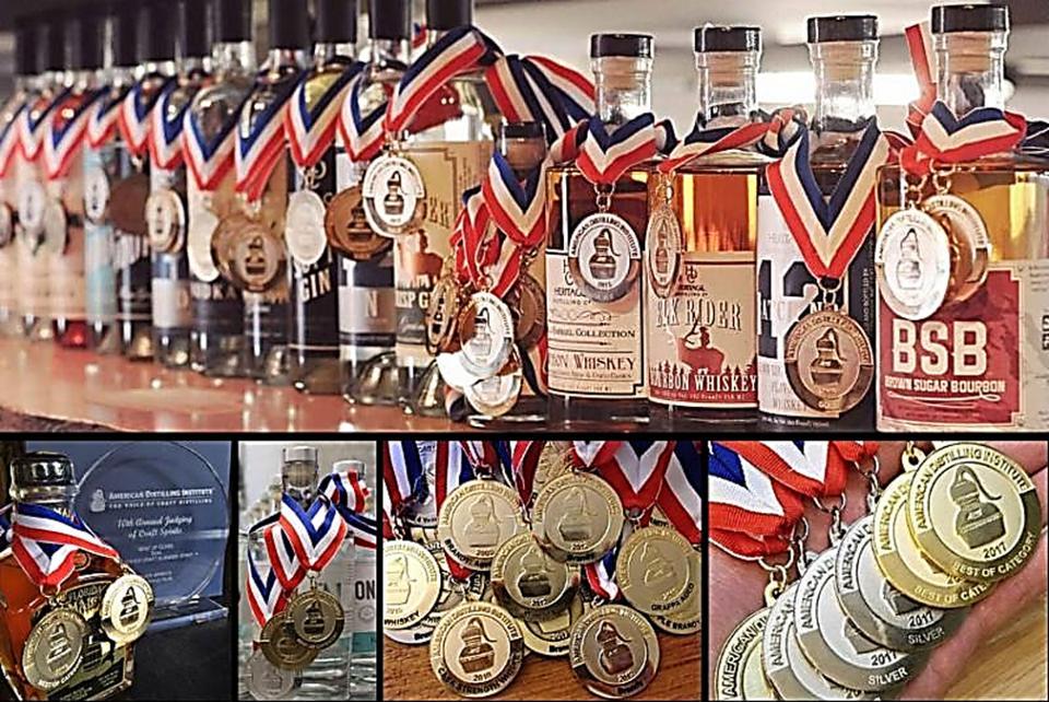 Medal Winners from 2019 ADI Craft Spirits Judging