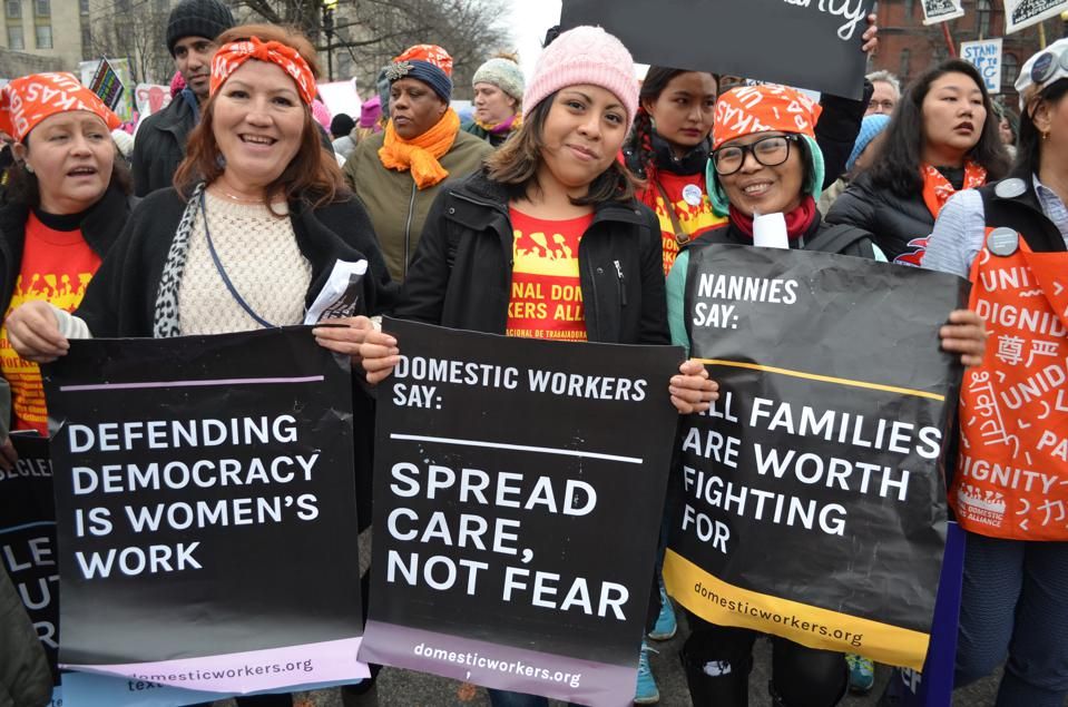 The National Domestic Workers Alliance is working to slow the spread