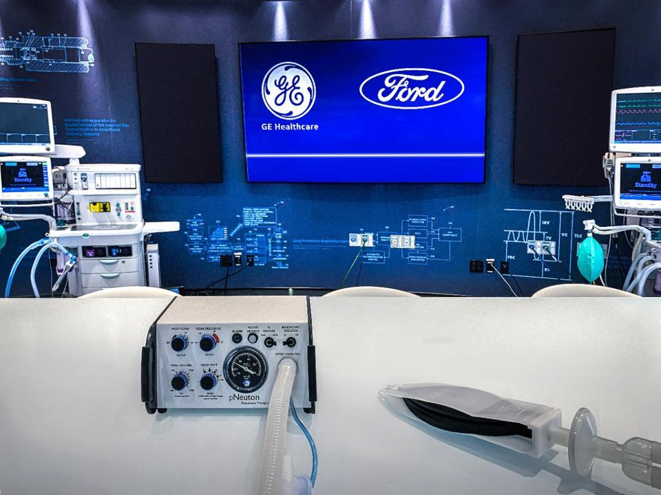 Ford, ventilators, autos, COVID-19, coronavirus, manufacturing, factories